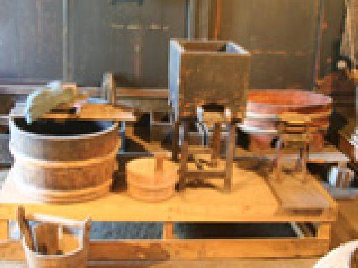 豆腐作りの道具